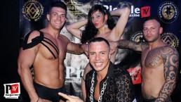 Spettacolo di Yuri Rambaldi alla serata Sexy strip del Baraonda Disco Club