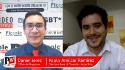 Video Intervista a Pablo Amilcar Ramirez, Responsabile Dell''Area Di Diversità Nella Segretaria Della Diversità Dello Stato Di San Luis, Argentina