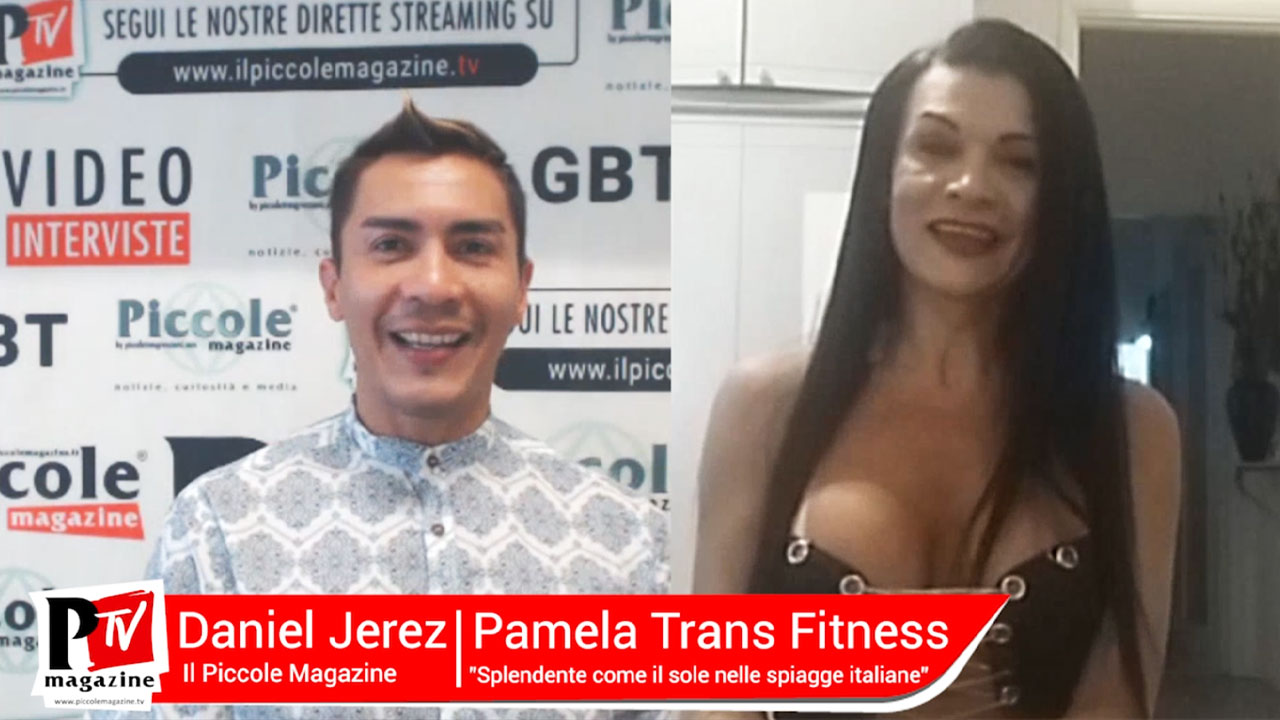 cover video intervista pamela trans fitness
