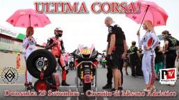 29 Settembre: ULTIMA CORSA al circuito di Misano Adriatico