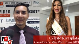 Ganadora Miss Perù Trans cover video2019