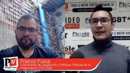 Entrevista a Franco Fuica, Coordinador de Legislación y Políticas Públicas de la Organización OTD Chile