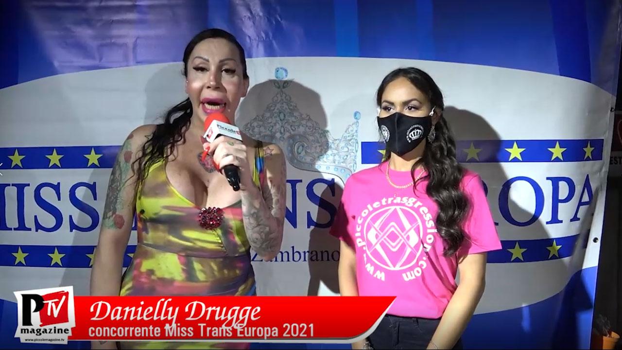 Intervista a Danielly Drugge concorrente Miss Trans Europa 2021