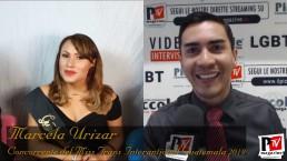 Entrevista a Marcela Urizar, participante en el concurso Miss Trans International Guatemala 2019
