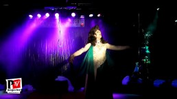 Sebille Garcia si esibisce al Miss Trav Company 2018