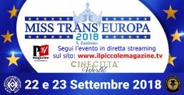 Evento Miss Trans Europa 2018
