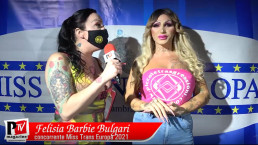 Intervista a Felisia Barbie Bulgari concorrente Miss Trans Europa 2021