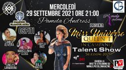 Talent Show 29/09/2021 Miss Universo Queen t in Campania - Selezioni 2021