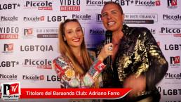 Intervista ad Adriano Ferro al compleanno di Luba Vodianova