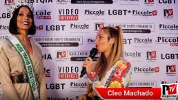 Intervista a Cleo Machado al compleanno di Luba Vodianova