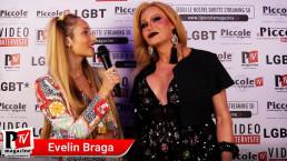 Intervista a Evelin Braga al compleanno di Luba Vodianova