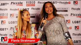 Intervista a Flavia Stratmann al compleanno di Luba Vodianova