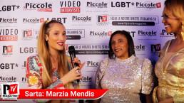 Intervista a Marzia Mendis al compleanno di Luba Vodianova
