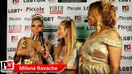 Intervista a Milena Ravache al compleanno di Luba Vodianova