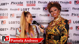 Intervista a Pamela Andress al compleanno di Luba Vodianova