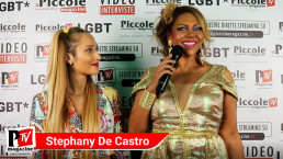 Intervista a Stephany De Castro al compleanno di Luba Vodianova