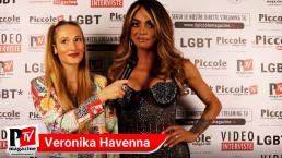 Intervista a Veronika Havenna al compleanno di Luba Vodianova