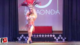 Spettacolo di Debora Princess al compleanno di Luba Vodianova