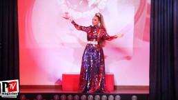 Spettacolo di Milena Ravache al compleanno di Luba Vodianova