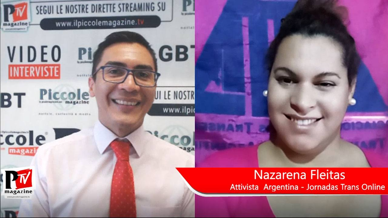 Video Intervista a Nazarena Fleitas: