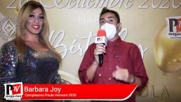 Intervista a Barbara Joy al compleanno di Paula Vermont 2020