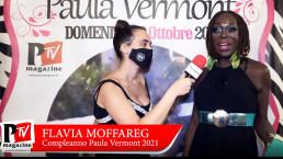 Intervista a Flavia Moffareg al compleanno di Paula Vermont