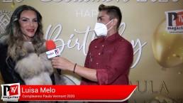 Intervista a Luisa Melo al compleanno di Paula Vermont 2020