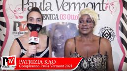 Intervista a Patrizia Kao al compleanno di Paula Vermont