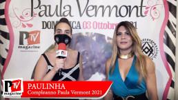 Intervista a Paulinha al compleanno di Paula Vermont
