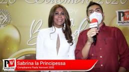 Intervista a Sabrina la Principessa al compleanno di Paula Vermont 2020
