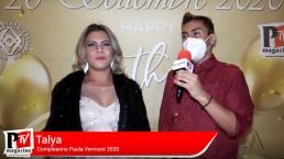 Intervista a Tayla al compleanno di Paula Vermont 2020