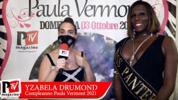 Intervista a Yzabela Drumond al compleanno di Paula Vermont