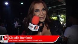 Interviste di Claudia Bambola al compleanno di Greice Cantarelli 2020