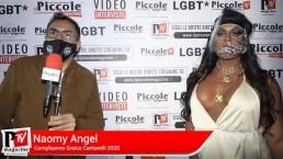 Intervista a Naomy Angel al compleanno di Greice Cantarelli 2020