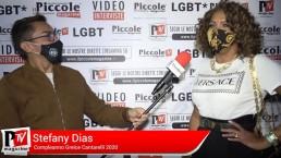 Intervista a Stefany Dias al compleanno di Greice Cantarelli 2020