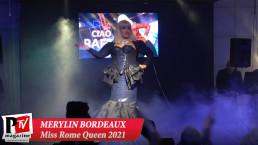 Spettacolo di Merylin Bordeaux al Miss Rome Queen 2021