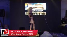 Spettacolo di Priscilla Favolosa al Miss Rome Queen 2021