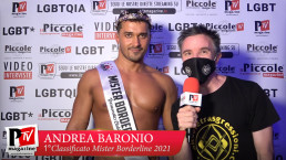 Intervista ad Andrea Baronio, 1° classificato al Mister Borderline 2021