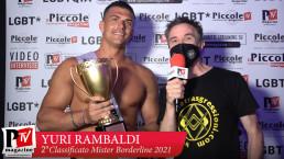Intervista a Yuri Rambaldi, 2° classificato al Mister Borderline 2021