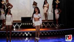 Prima sfilata delle concorrenti del Miss Butterfly 2020