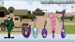 Mimetismo! - Sex Toys Cartoon Comedy I Trasgressivi - 36