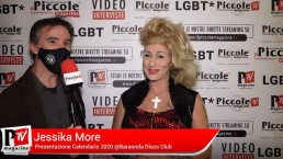 Intervista a Jessika More alla Presentazione del Calendario 2021 delle Pornostar