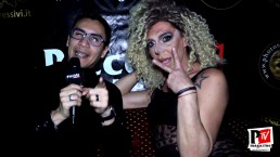 Intervista ad Apollonia Queenage al compleanno di Sandra Show 2020