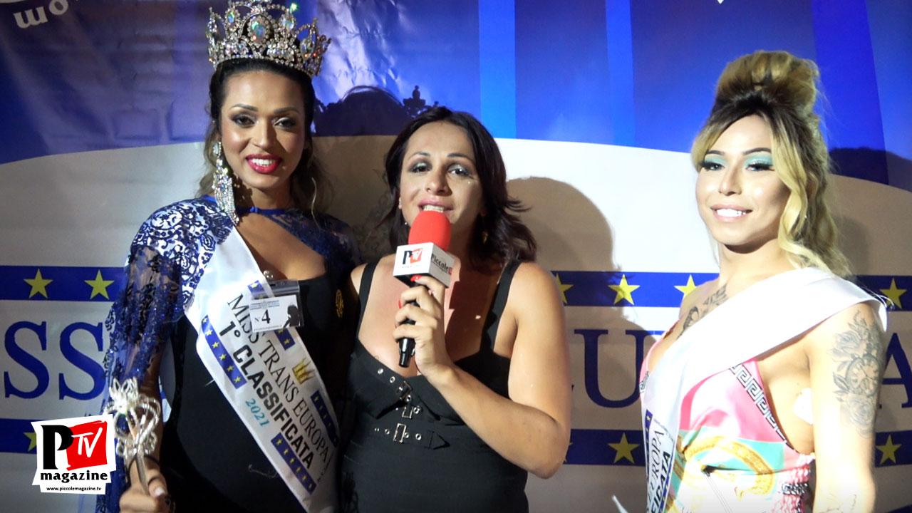 Intervista alle vincitrici del Miss Trans Europa 2021