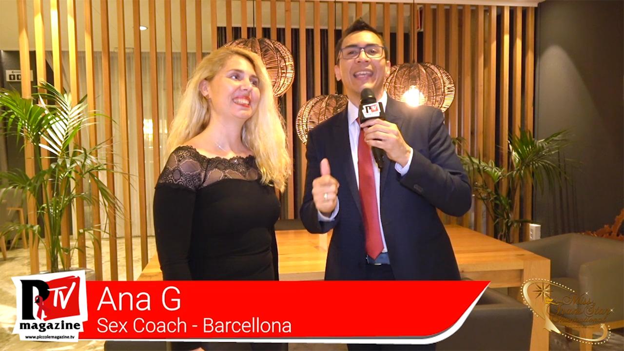 Intervista a Ana G, una Sex Coach presente al Miss Trans Star Internatioanl 2019