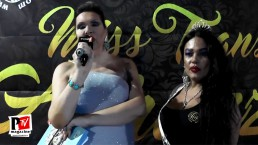 Jennifer vince il premio International al Miss Trans Abruzzo 2018