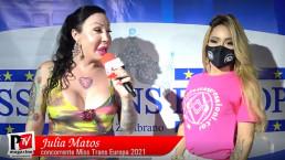 Intervista a Julia Matos concorrente Miss Trans Europa 2021