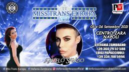 Miss Trans Europa 2021: ospite speciale Angelo Sanzio!