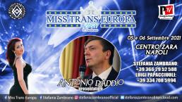 Miss Trans Europa 2021: presentatore Antonio D'Addio