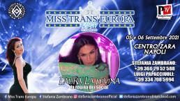Miss Trans Europa 2021: la Regina dei Social Laura La Divina